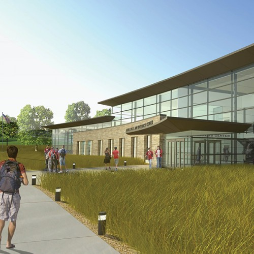 Rendering of proposed Storzer renovation