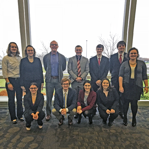 11th Annual Upper Midwest Regional Ethics Bowl Champions Ripon College