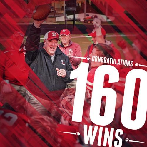 Coach Ron Ernst 160 Wins
