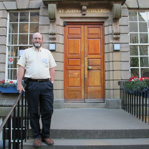 Paul Jeffries in Durham, England