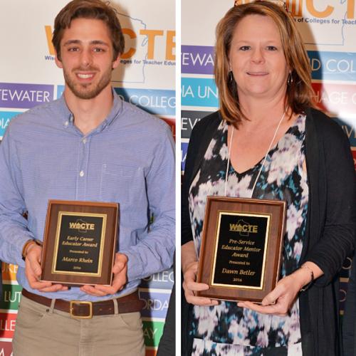 WACTE award recipients