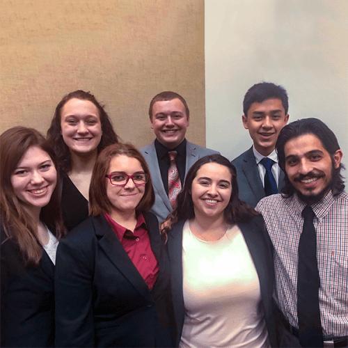 Ripon College Fall 2018 Ethics Bowl Team