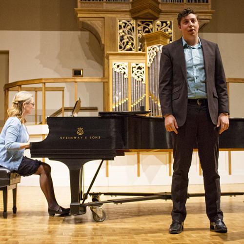 Owen Reynolds, student recital