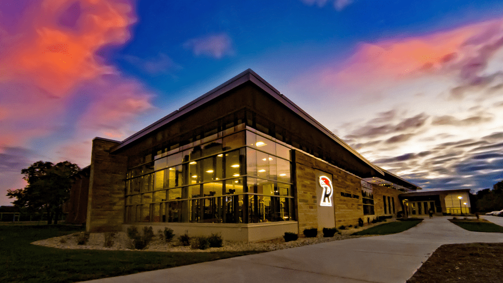 Willmore Center at Sunset