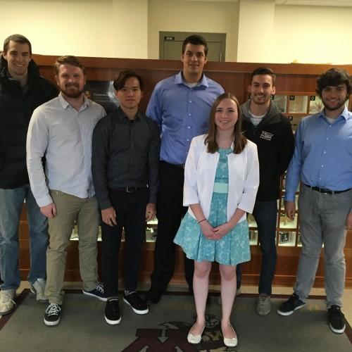 Chemistry students visiting University of Minnesota