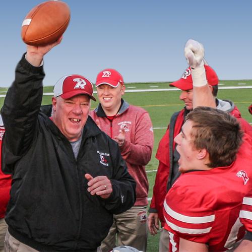 Head Football Coach Ron Ernst