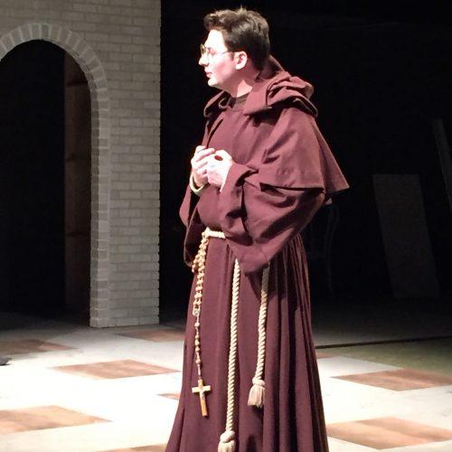 Brennan Kanein costume as Friar Lodowick