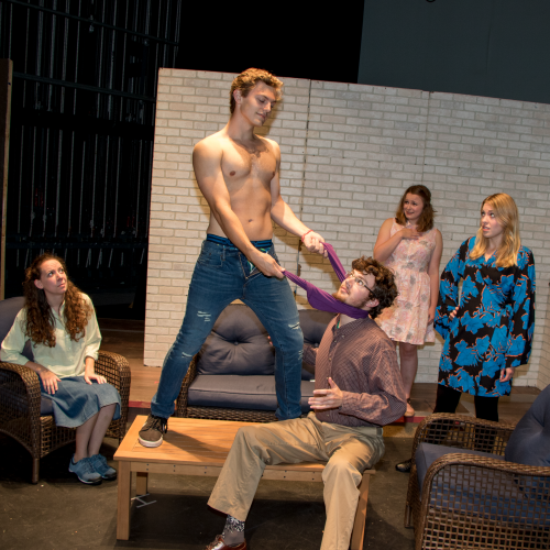 Photo of theatre production
