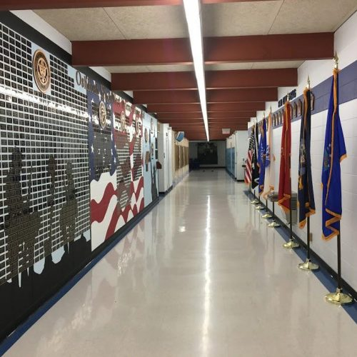 Veterans Wall