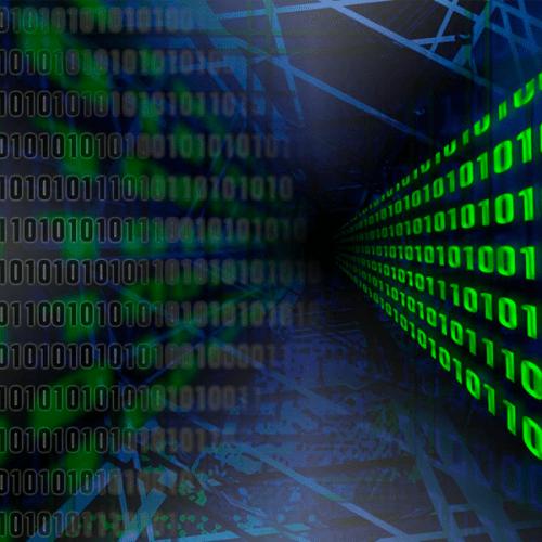 image representing computer data