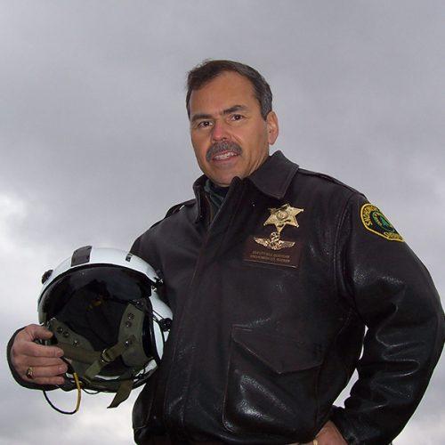 Bill Quistorf '80 in his pilot's gear