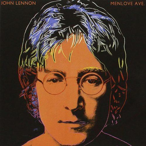 Andy Warhol album art for John Lennon's Menlove Ave.