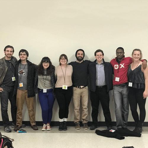 Participants of the Kennedy Center American College Theatre Festival, Region 3