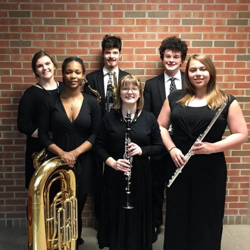 Ripon College members of the state Collegiate Honors Band