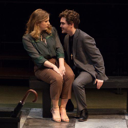 "Production photo from play ""Tartuffe"""