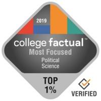College Factual Most Focused logo