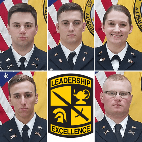 Composite photo of Ripon College 2019 ROTC Cadets
