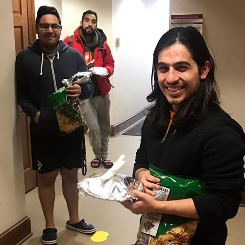Students with lunch provisions