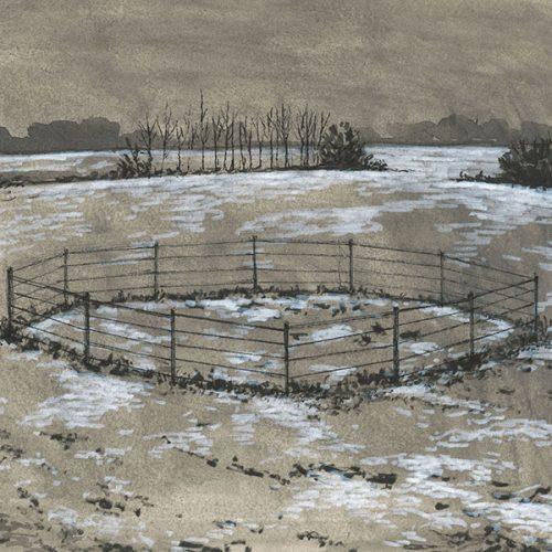 """""""Landscape (Enclosure),"""" by Rafael Francisco Salas"""