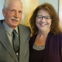 Cindy Hutter and husband
