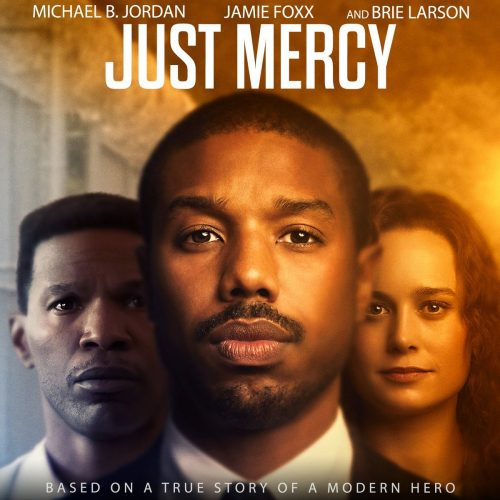 """Movie poster for """"Just Mercy"""""""