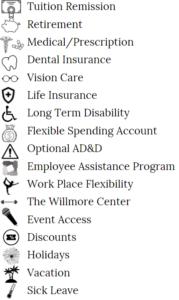 benefits listing